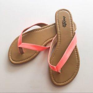 Charlotte Russe Capri Pat Flip Flop • Size 6